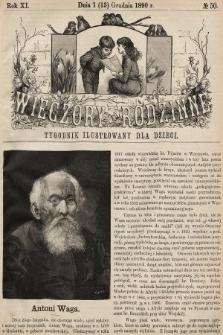 Wieczory Rodzinne : tygodnik ilustrowany dla dzieci. R. 11, 1890, nr50