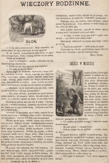 Wieczory Rodzinne : tygodnik ilustrowany dla dzieci. 1892, nr2