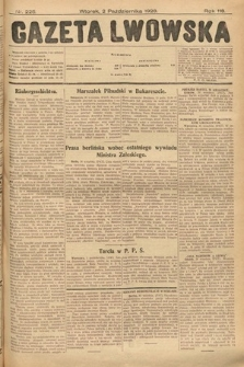 Gazeta Lwowska. 1928, nr226