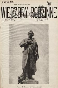 Wieczory Rodzinne. R. 19, 1898, nr53