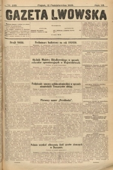 Gazeta Lwowska. 1928, nr235