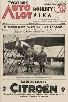 Tygodnik Automobilisty i Lotnika. 1928, nr10