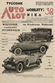 Tygodnik Automobilisty i Lotnika. 1928, nr18