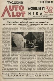 Tygodnik Automobilisty i Lotnika. 1929, nr1
