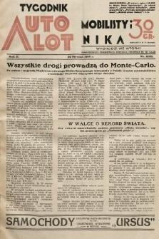Tygodnik Automobilisty i Lotnika. 1929, nr4