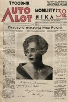 Tygodnik Automobilisty i Lotnika. 1929, nr6