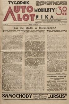 Tygodnik Automobilisty i Lotnika. 1929, nr14