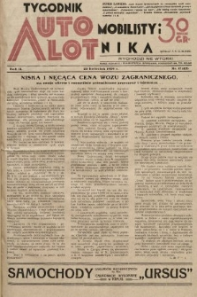 Tygodnik Automobilisty i Lotnika. 1929, nr17