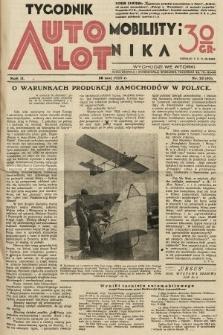 Tygodnik Automobilisty i Lotnika. 1929, nr22