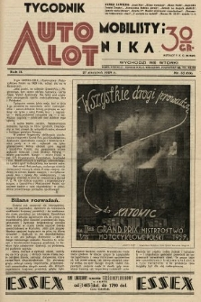 Tygodnik Automobilisty i Lotnika. 1929, nr35