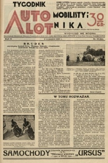 Tygodnik Automobilisty i Lotnika. 1929, nr36