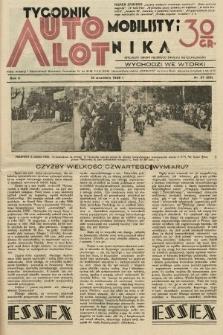 Tygodnik Automobilisty i Lotnika. 1929, nr37