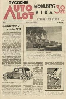 Tygodnik Automobilisty i Lotnika. 1929, nr38