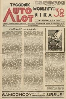 Tygodnik Automobilisty i Lotnika. 1929, nr46