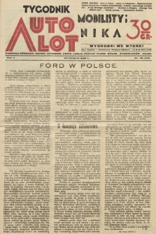 Tygodnik Automobilisty i Lotnika. 1929, nr48