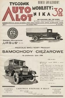Tygodnik Automobilisty i Lotnika. 1929, nr52