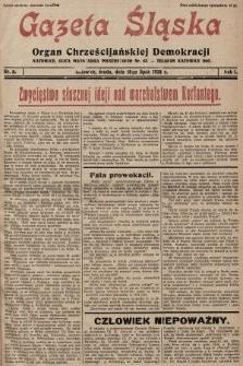Gazeta Śląska : organ Chrześcijańskiej Demokracji. 1928, nr8