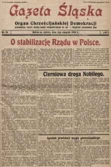 Gazeta Śląska : organ Chrześcijańskiej Demokracji. 1928, nr13