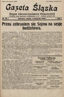 Gazeta Śląska : organ Chrześcijańskiej Demokracji. 1928, nr35
