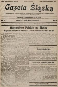Gazeta Śląska : czasopismo poświęcone sprawom narodowo-chrześcijańskim na Kresach Zachodnich. 1929, nr3