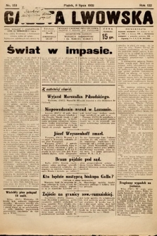 Gazeta Lwowska. 1932, nr153