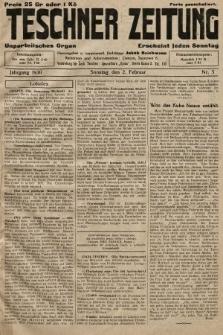 Teschner Zeitung : unparteiisches Organ. 1930, nr5