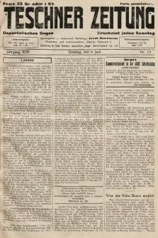 Teschner Zeitung : unparteiisches Organ. 1930, nr23