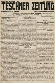 Teschner Zeitung : unparteiisches Organ. 1930, nr29