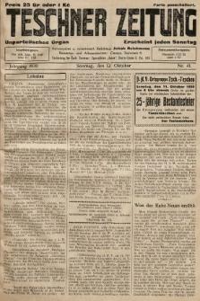 Teschner Zeitung : unparteiisches Organ. 1930, nr41