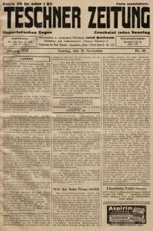 Teschner Zeitung : unparteiisches Organ. 1930, nr48
