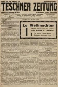 Teschner Zeitung : unparteiisches Organ. 1930, nr51