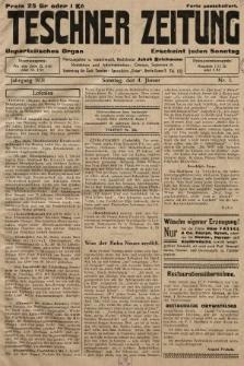 Teschner Zeitung : unparteiisches Organ. 1931, nr1