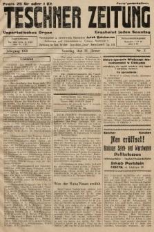 Teschner Zeitung : unparteiisches Organ. 1931, nr3