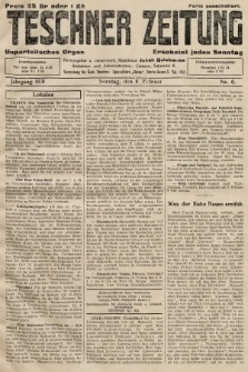Teschner Zeitung : unparteiisches Organ. 1931, nr6