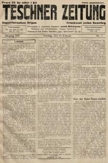 Teschner Zeitung : unparteiisches Organ. 1931, nr7