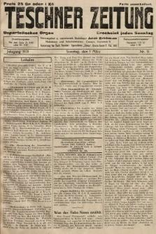 Teschner Zeitung : unparteiisches Organ. 1931, nr9