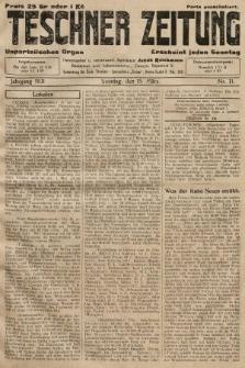 Teschner Zeitung : unparteiisches Organ. 1931, nr11