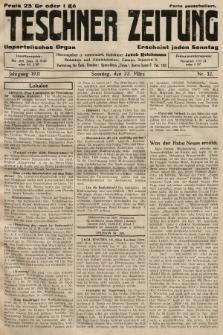 Teschner Zeitung : unparteiisches Organ. 1931, nr12
