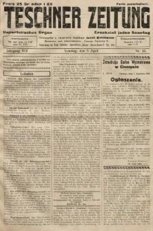 Teschner Zeitung : unparteiisches Organ. 1931, nr14