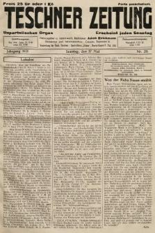 Teschner Zeitung : unparteiisches Organ. 1931, nr20