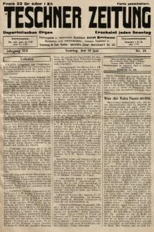 Teschner Zeitung : unparteiisches Organ. 1931, nr24