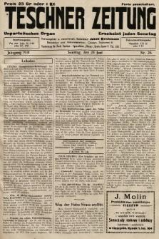 Teschner Zeitung : unparteiisches Organ. 1931, nr26