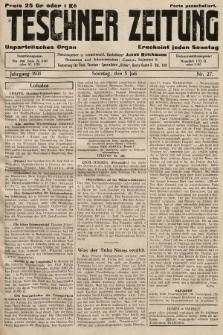 Teschner Zeitung : unparteiisches Organ. 1931, nr27