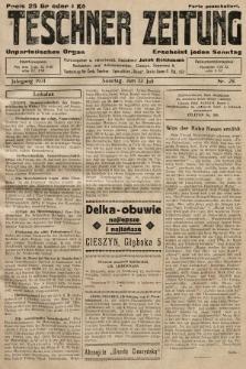 Teschner Zeitung : unparteiisches Organ. 1931, nr28