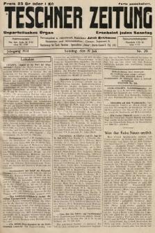 Teschner Zeitung : unparteiisches Organ. 1931, nr29
