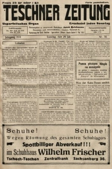 Teschner Zeitung : unparteiisches Organ. 1931, nr30
