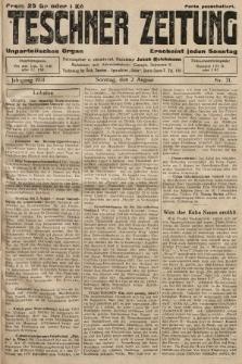 Teschner Zeitung : unparteiisches Organ. 1931, nr31