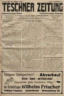 Teschner Zeitung : unparteiisches Organ. 1931, nr33