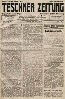 Teschner Zeitung : unparteiisches Organ. 1931, nr35