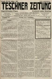 Teschner Zeitung : unparteiisches Organ. 1931, nr36